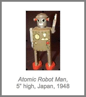 Atomic Robot Man - Japan, 1948