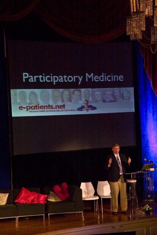 e-Patient Dave talks about Participatory Medicine