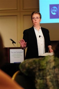 Laurie Todd lecturing