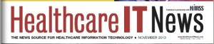 Healthcare IT News banner
