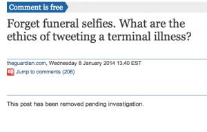 Guardian post on Lisa Adams - takedown