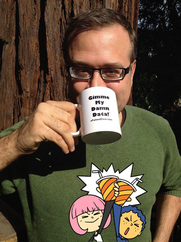 """Hugo with """"gimme my data"""" mugHugo with """"gimme my data"""" mug"""
