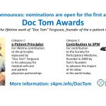 Announcing SPM's new Doc Tom Awards. Nominations are open!