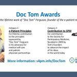 Congratulations to the 2019 Doc Tom Award Winners: Susannah Fox & Ileana Balcu
