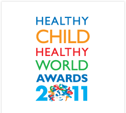 Healthy Child, Health World Awards logo