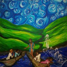 Regina Holliday petition painting