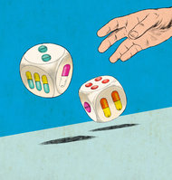 Dice image from The Times by Ruth Gwily dice 7-14-13
