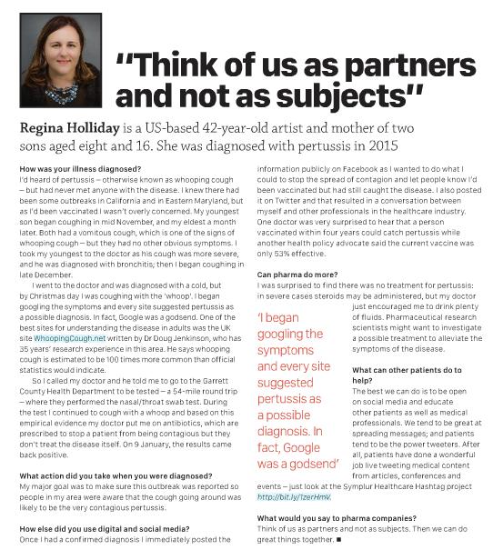Regina Pharma Times pertussis