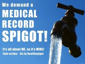 We demand a medical record spigot!