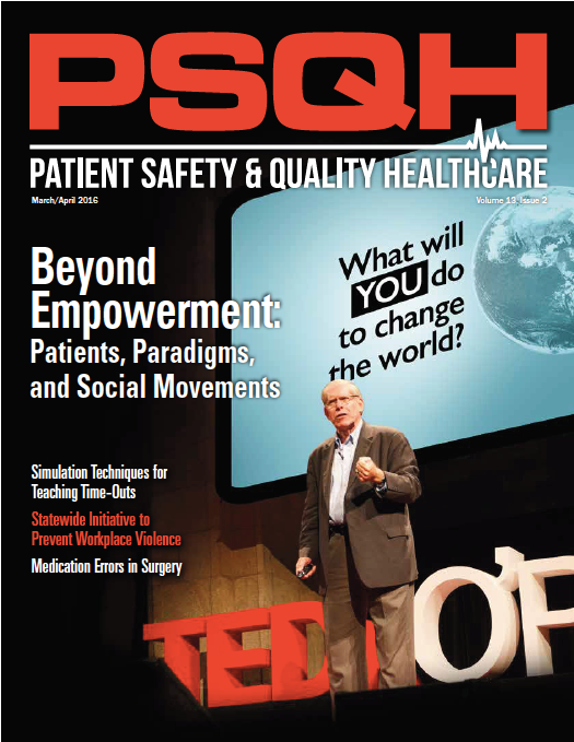 Cover of Patient Safety & Quality Healthcare, March/April 2016